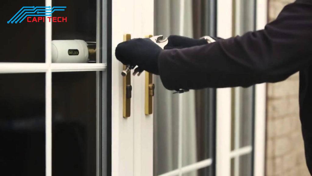 thiết bị chống trộm lắp cửa