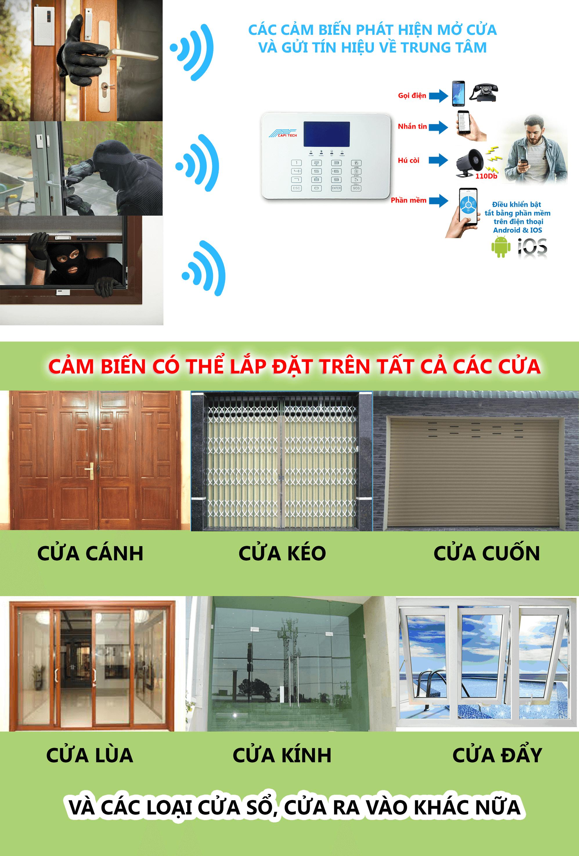 thiết bị chống trộm gia đình cpa5
