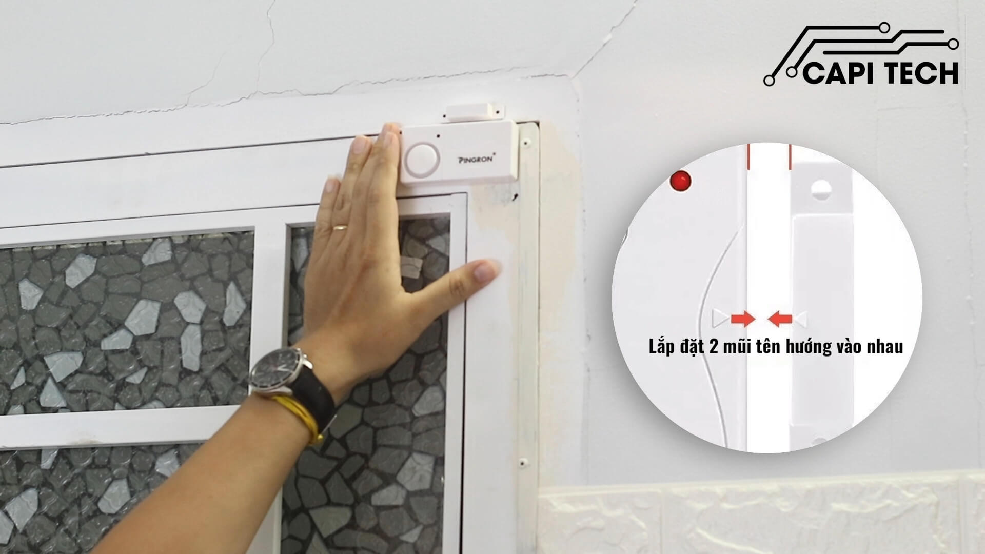 thiết bị chống trộm gắn cửa pr-c03