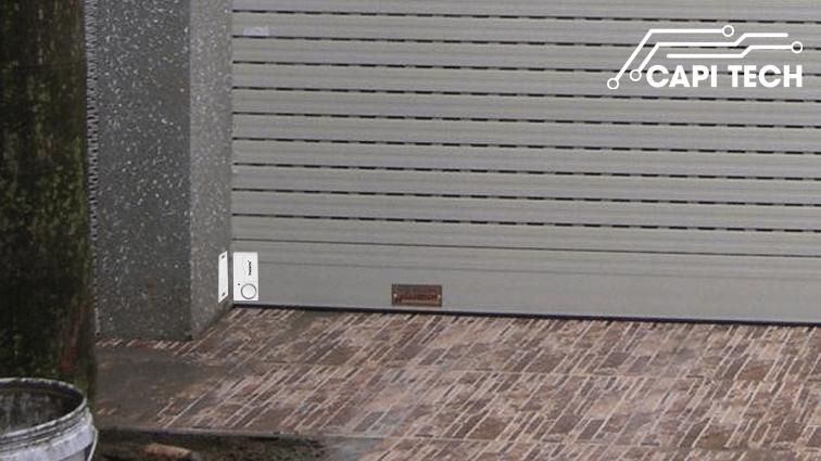 thiết bị chống trộm gắn cửa cuốn pr-c03